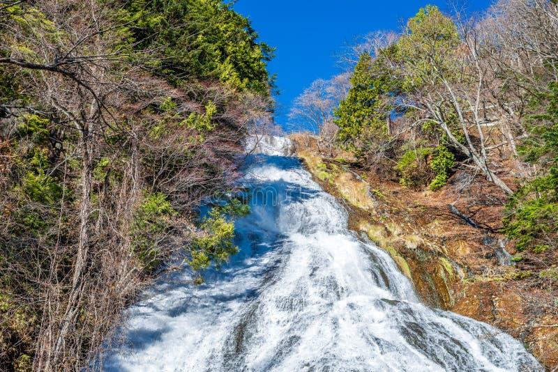 Yudaki spada przy Nikko, Japonia zdjęcie royalty free