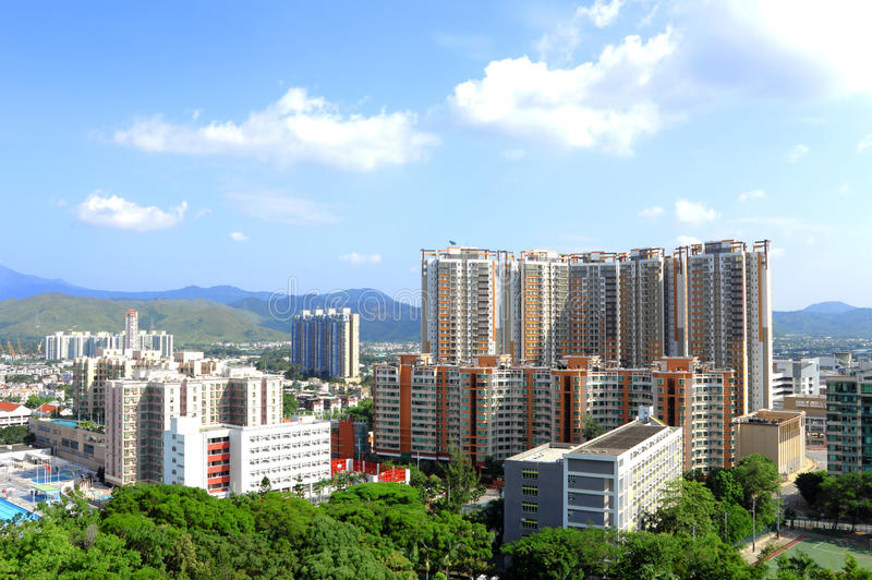 Yuen长的区 库存图片