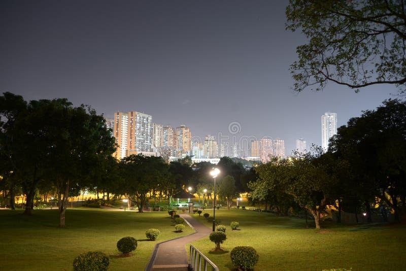 Yuen Long Park, Hong Kong stock image