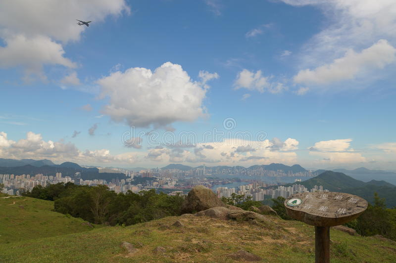 Yuen Tsuen Ancient Trail, Hong Kong stock images