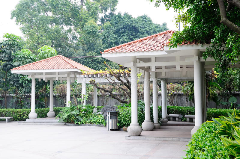 Yuexiu park scenery stock images