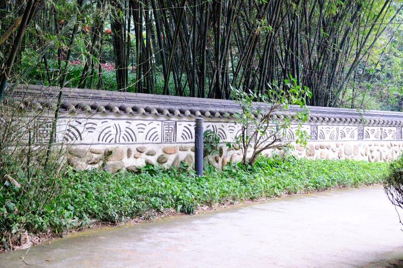 Yuexiu park scenery stock photo