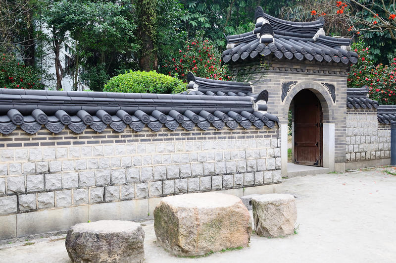 Yuexiu park scenery royalty free stock image