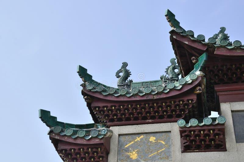Yueyangstad, de provincie China van Hunan royalty-vrije stock foto's