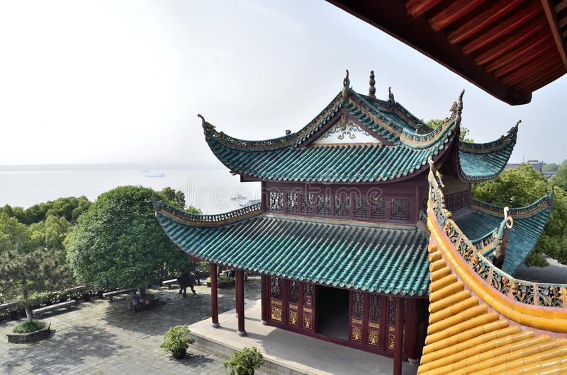 Yueyangstad, de provincie China van Hunan royalty-vrije stock afbeeldingen