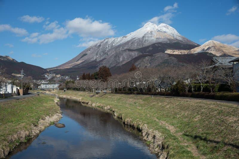 Yufudake Mt fotografia stock