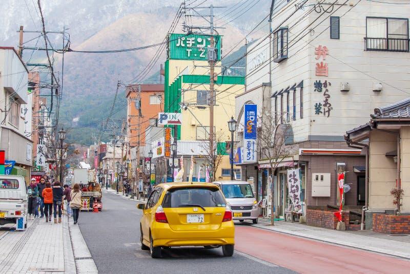 Yufuin en Japón imagen de archivo libre de regalías