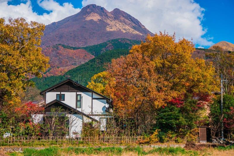 Yufuin-Natur stockfotografie