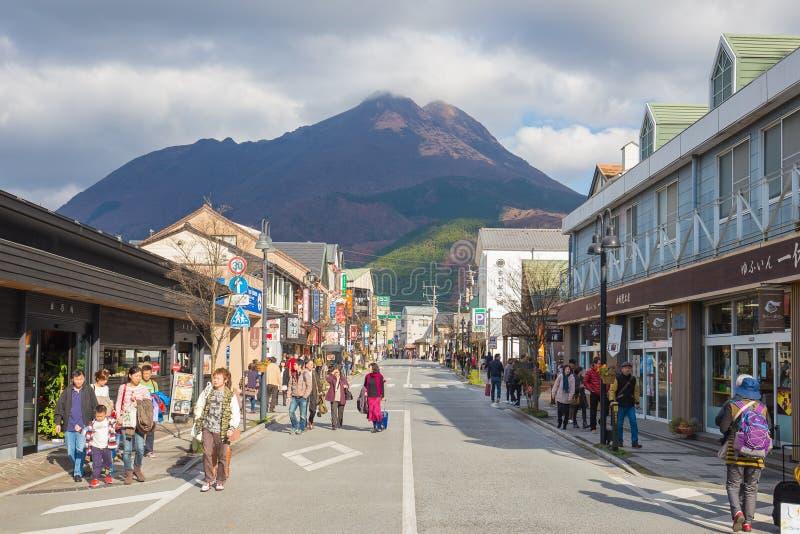 Yufuin no perfecture de Oita, Japão foto de stock royalty free