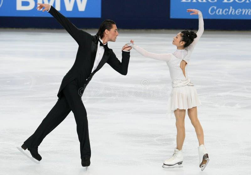 Yuko KAVAGUTI/Alexandre SMIRNOV (RUS) images stock