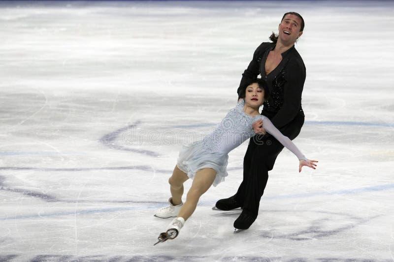 Yuko KAVAGUTI/Alexandre SMIRNOV (RUS) photo stock
