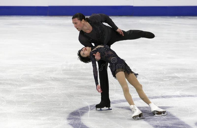 Yuko KAVAGUTI/Alexandre SMIRNOV (RUS) photos stock