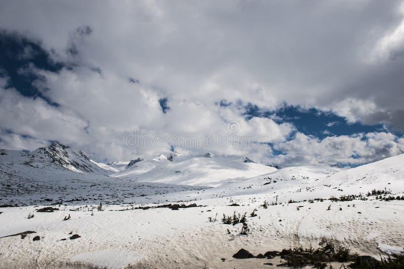 Yukon - Alaska. Whitepass route in Alaska, United States stock image