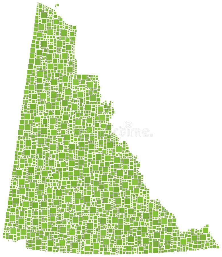 Download Yukon (Canada) Province Map Stock Photo - Image: 24153534