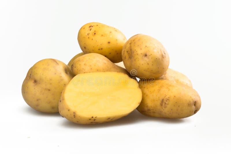 Yukon gold potatoes royalty free stock photos