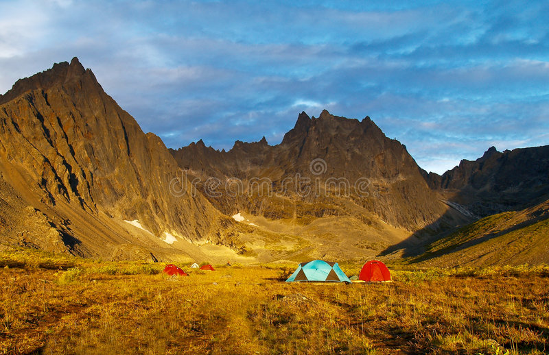 Download Yukon Wilderness Camping stock image. Image of outdoor - 9279747
