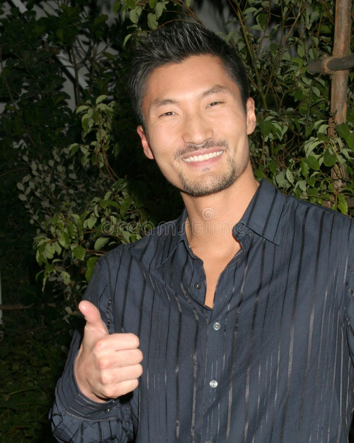 Yul Kwon. Winner Surviver Cook Islands Finale CBS Television City Los Angeles, CA December 17, 2006 royalty free stock photos