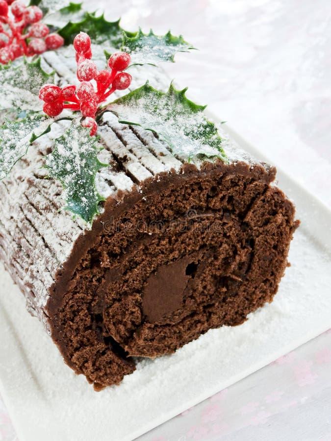 Download Yule log stock image. Image of nutrition, decoration - 17018003