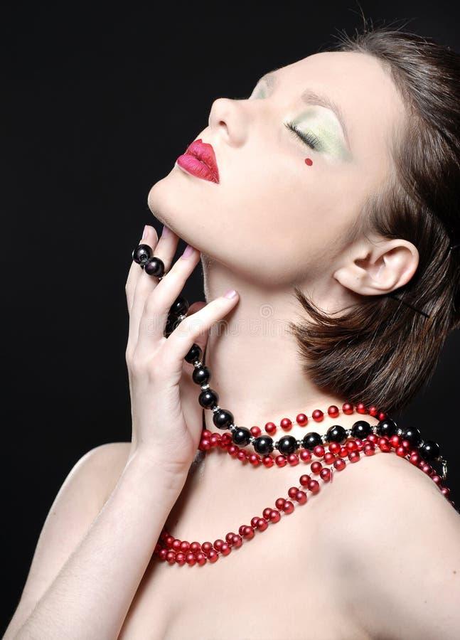 Yulia portrait royalty free stock image