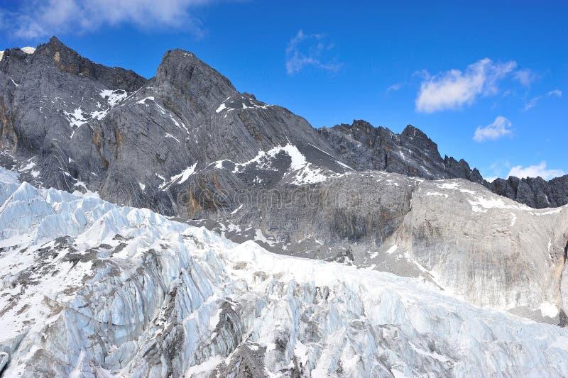 Yulong雪山 图库摄影