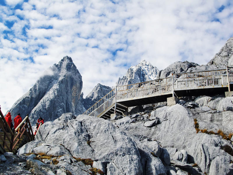 Download Yulong mountain stock photo. Image of high, travel, bird - 22240004