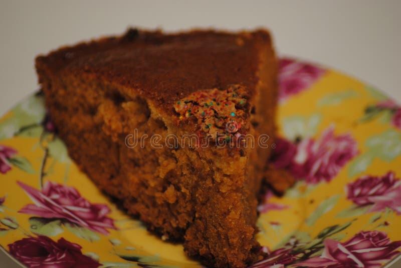 Yum-yum bolo feito à mão de charlotte imagens de stock