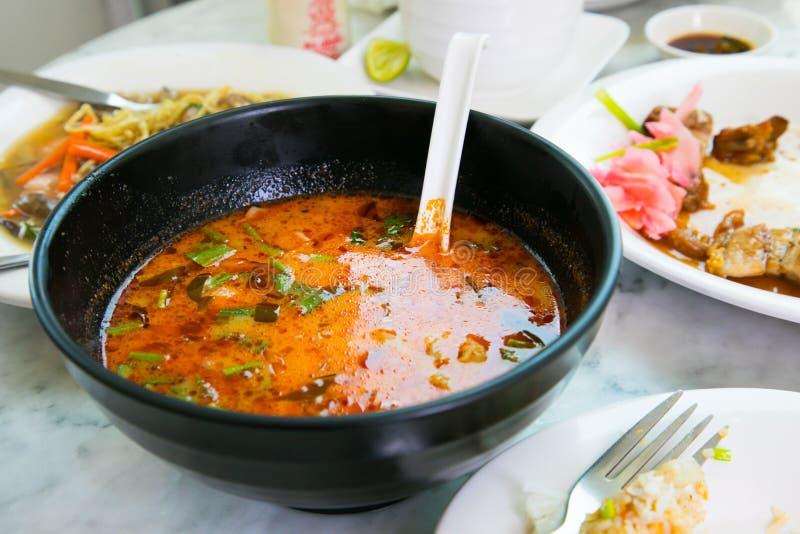 yum tom kung стоковое изображение