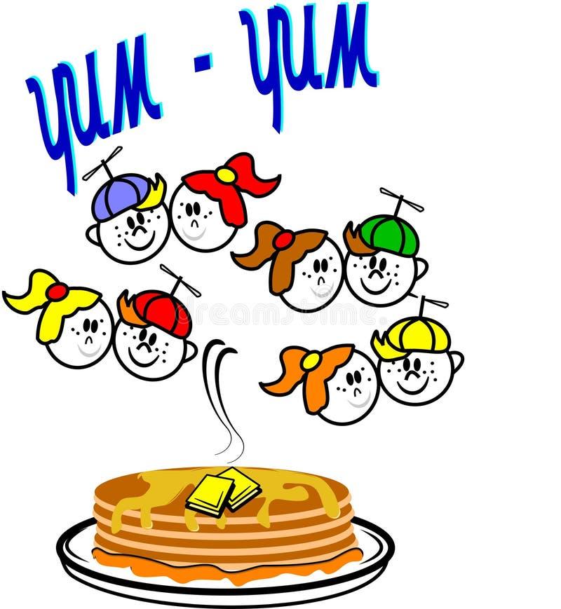 Free Yum Yum Pancakes Stock Photo - 20433660