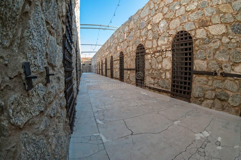 Yuma Territorial Prison, Yuma, Arizona fotografía de archivo libre de regalías