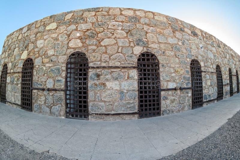 Yuma Territorial Prison, Yuma, Arizona imagen de archivo