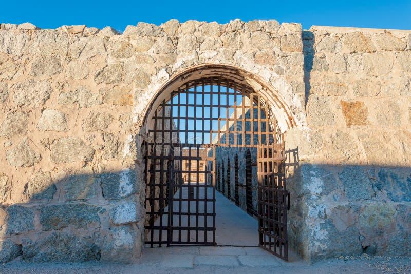 Yuma Territorial Prison foto de archivo libre de regalías