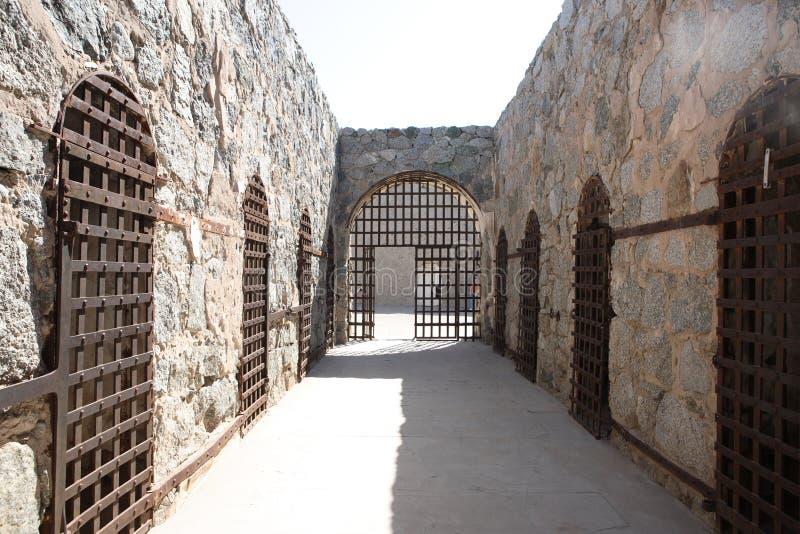 YUMA Territorial Prison State Historic-Park royalty-vrije stock foto