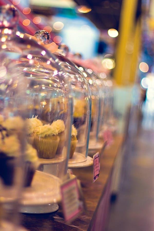 Yumm Cupcakes stock image
