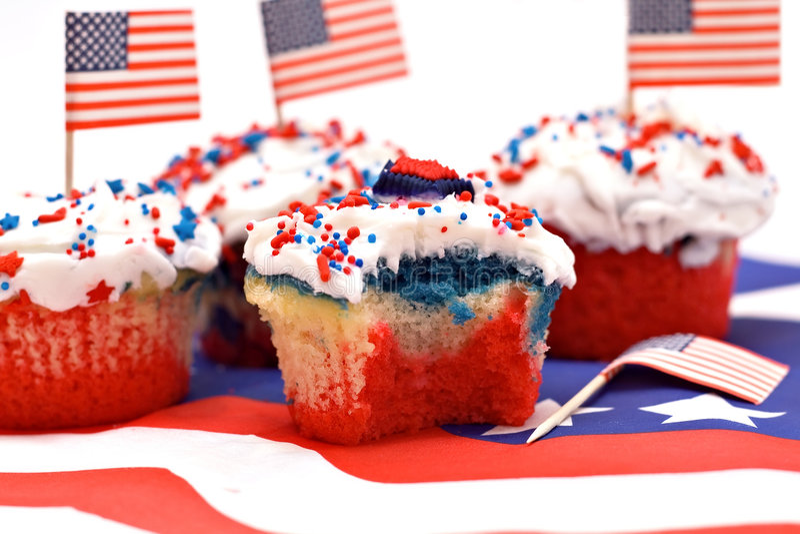 Yummy Cupcake royalty-vrije stock afbeelding