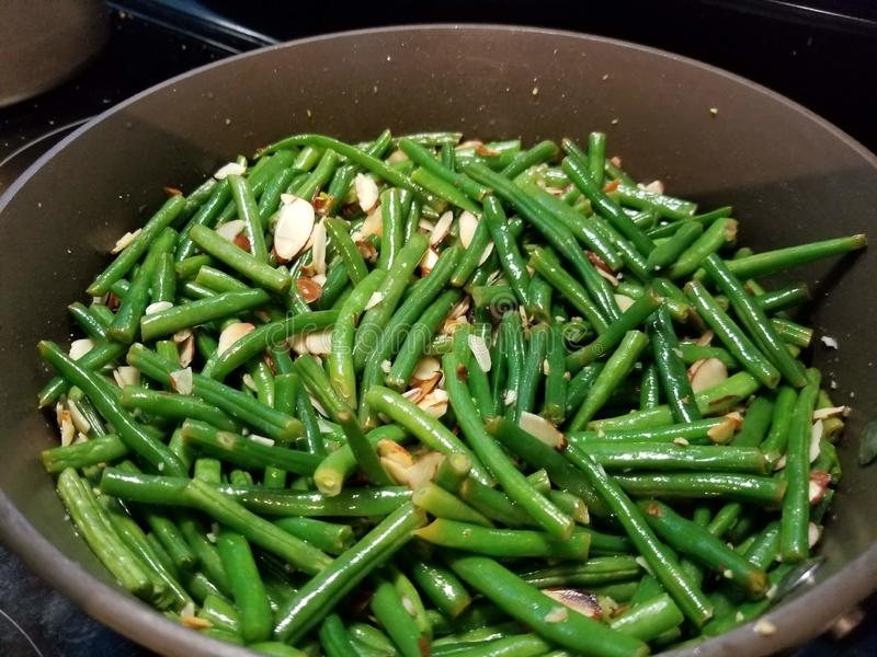 Yummy Green Beans With Almonds Free Public Domain Cc0 Image