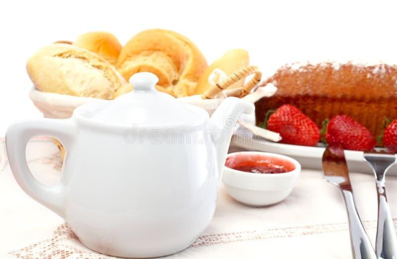 Yummy ontbijt stock afbeeldingen