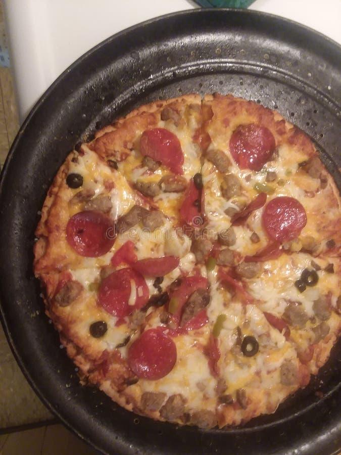 Yummy pizza dzisiaj obrazy stock