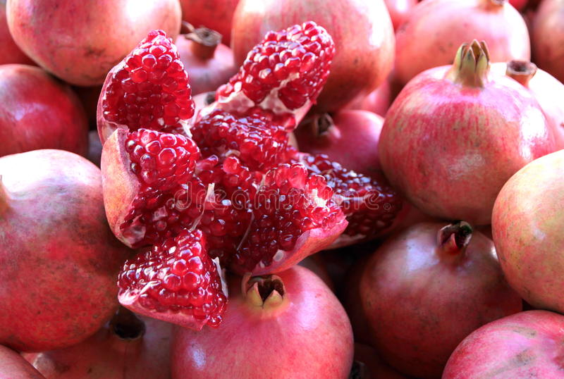 Download Yummy Pomegranate stock image. Image of pulp, ripe, healthy - 36671429