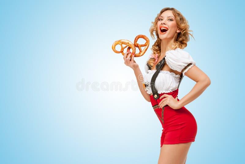 Yummy pretzels. stock images