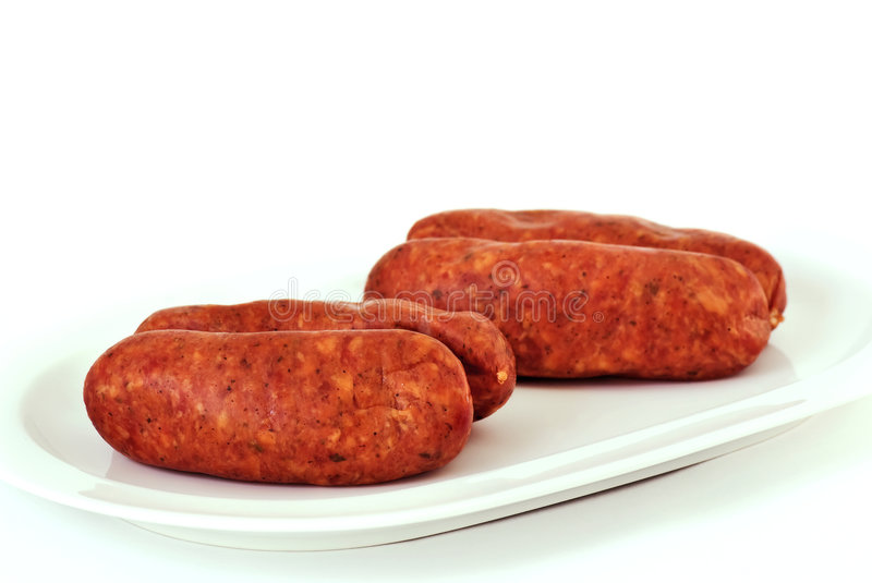 Yummy Sausage Royalty Free Stock Images