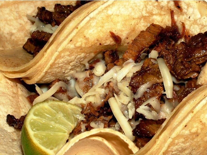 Yummy Taco's stock foto