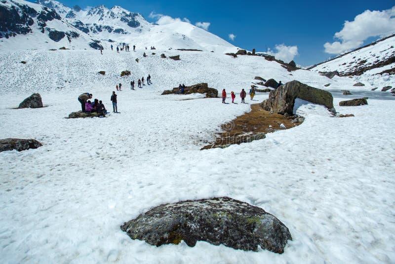 Yumthang dolina zdjęcia royalty free