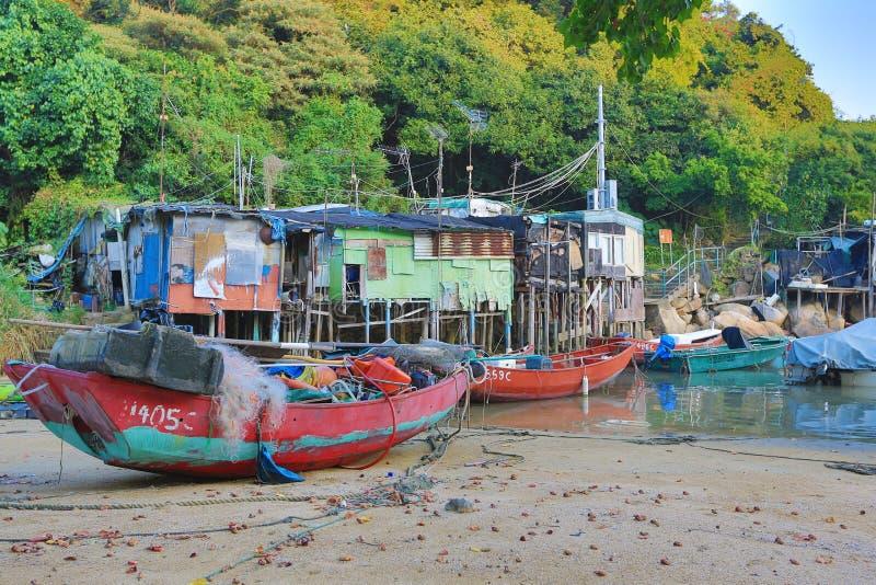 Yung Shue Wan Typhoon-Schutz stockfoto