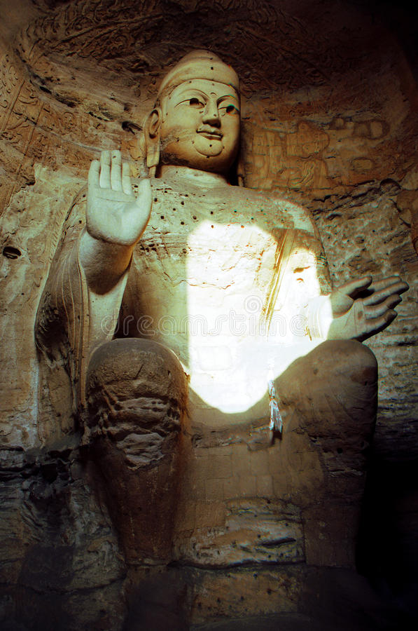 Download Yungang Buddhist Grottoes In China Stock Image - Image: 25426561