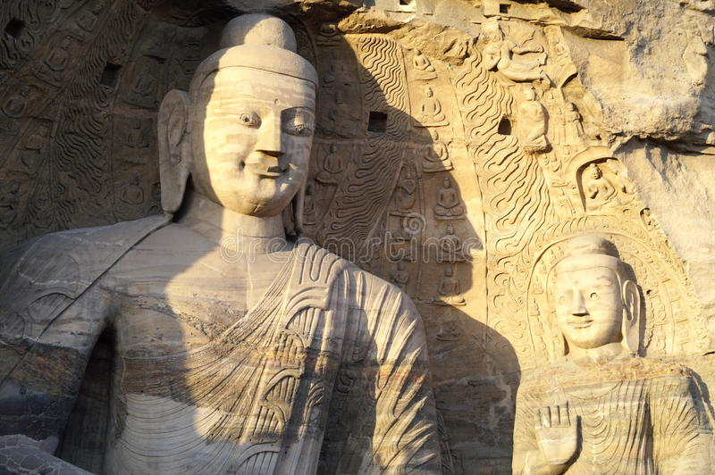 Yungang Grottoes royalty free stock photography