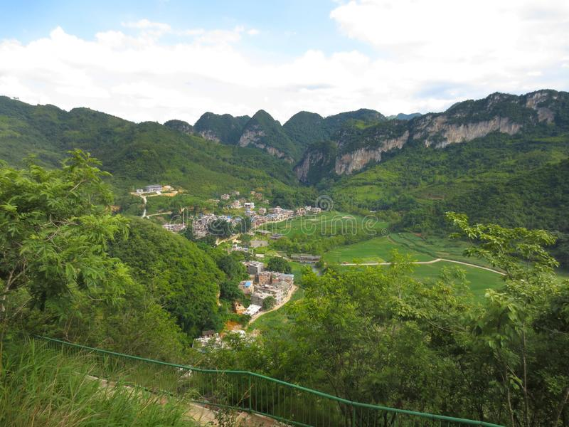 Yunnan Bamei obrazy royalty free