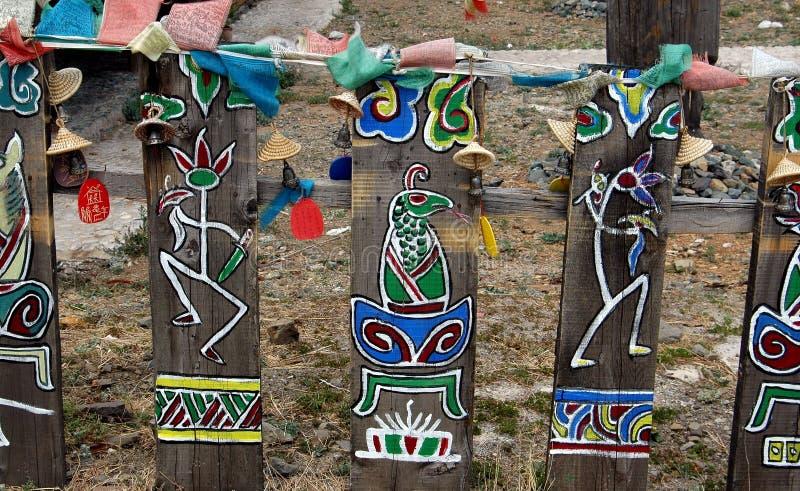 Download Yunnan, China: Pinturas De Dongba Wanshen Foto Editorial - Imagem de china, palha: 26511401