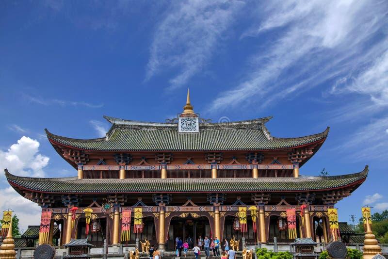 Yunnan Dali Dragon City Västra-stil byggnad fotografering för bildbyråer