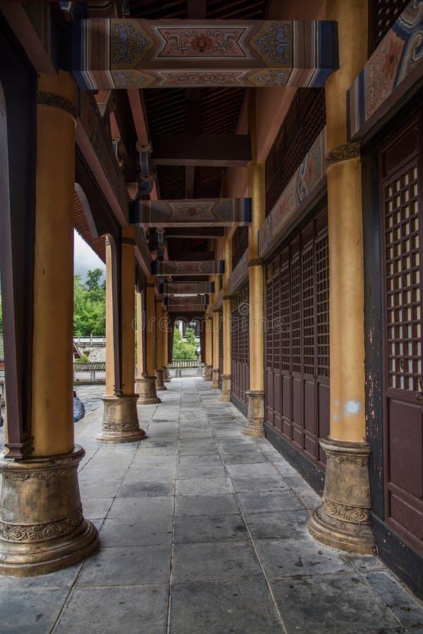 Yunnan Dali Dragon City Västra-stil byggnad royaltyfria bilder