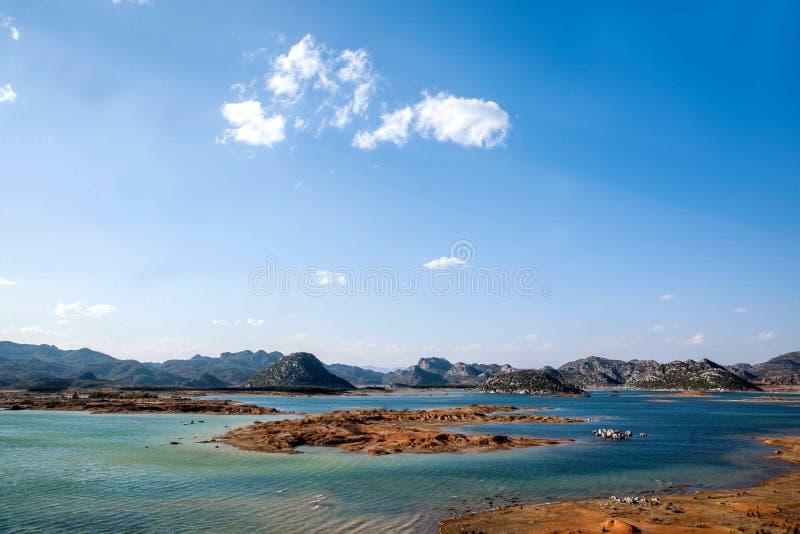 Yunnan Haifeng bagna zdjęcia royalty free